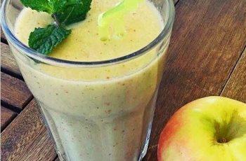 smoothie de coco e fruta - receitas frescas e saudáveis