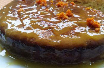 Bolo de laranja húmido, rápido e delicioso - vegano