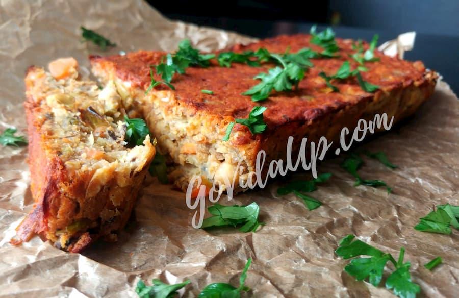 Bolo de grão-de-bico – receita vegana, fácil e deliciosa