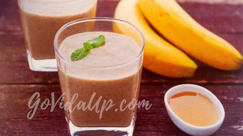 Batido de Banana, Aveia e Amêndoas – Saudável e delicioso para uma manhã cheia de energia